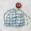 Thumbnail: smallbags en lin à carreaux - 2 tailles / linen bags - 2 sizes