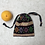 Thumbnail: smallbag tissus birman brodé doublé voile vert / embroidered Burmese bag