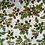 Thumbnail: smallbags blancs imprimés houx / christmas printed cotton bags