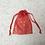 Thumbnail: smallbags voile imprimé doré  / golden printed veil bags