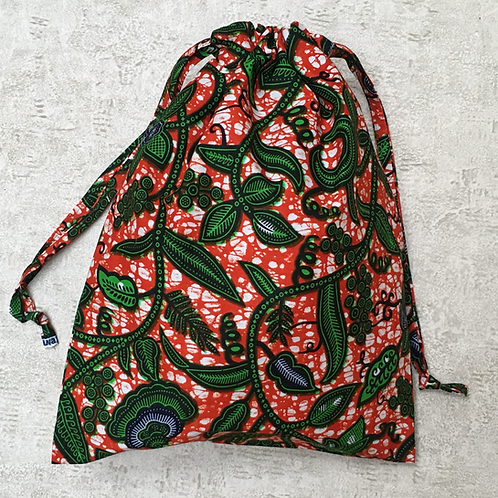 sac de plage unique wax africain / unique african wax beach bag