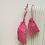 Thumbnail: kit 2 smallbags en lin fuchsia / pink linen 2 bags kit
