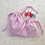 Thumbnail: smallbags rose brillant - 2 tailles / lightening rose bags - 2 sizes