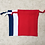 Thumbnail: kit 3 smallbags bleu blanc rouge / french kit - 3 bags - cotton