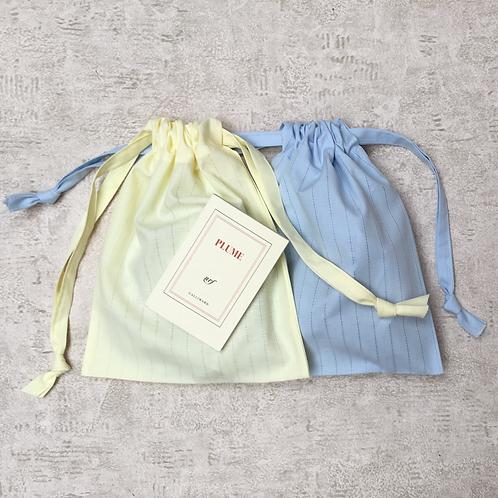 smallbags voile de coton ajouré / cotton veil bags