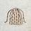 Thumbnail: smallbags coton imprimé ananas - 2 tailles / printed cotton bags - 2 sizes