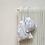 Thumbnail: smallbags voile de coton rayé - 2 tailles / white cotton veil bags - 2 sizes
