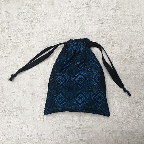 smallbag unique dentelle doublée / unique lace and cotton veil bag