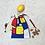 Thumbnail: smallbag esprit Mondrian / Mondrian spirit