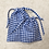 Thumbnail: smallbags en vichy - 3 tailles - 7 couleurs / cotton bags - 3 sizes - 7 colors