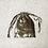 Thumbnail: smallbags en velours lisse beige reflets roses / beige velvet bag