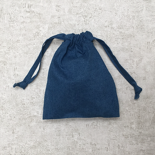smallbags denim bleu délavé - 2 tailles / faded blue denim bags - 2 sizes