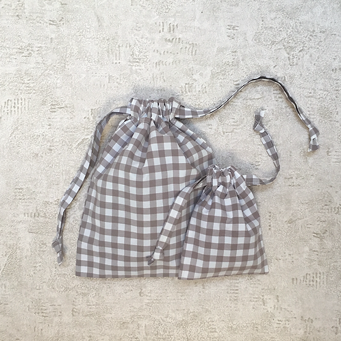 kit 2 smallbags coton recyclé / recycled cotton - 2 bags kit