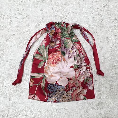 smallbag recyclé satin de coton imprimé / recycled printed satin cotton smallbag