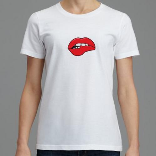 "t shirt femme ""I want you"""