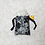Thumbnail: sac sexy - 2 tailles / toys bag - printed black lace / toys bag - 2 sizes