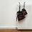 Thumbnail: kit 2 smallbags imprimé cerises  - 2 tailles / cherries print kit