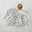 Thumbnail: kit 2 smallbags lin - 2 tailles / kit 2 linen bags