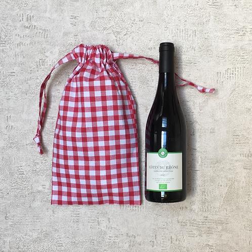 smallbags vichy bouteille & pain - 7 couleurs / cotton bottle bags - 7 colors