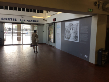 """Little Eutopia"", gare SNCF Pont Cardinet, 2018"