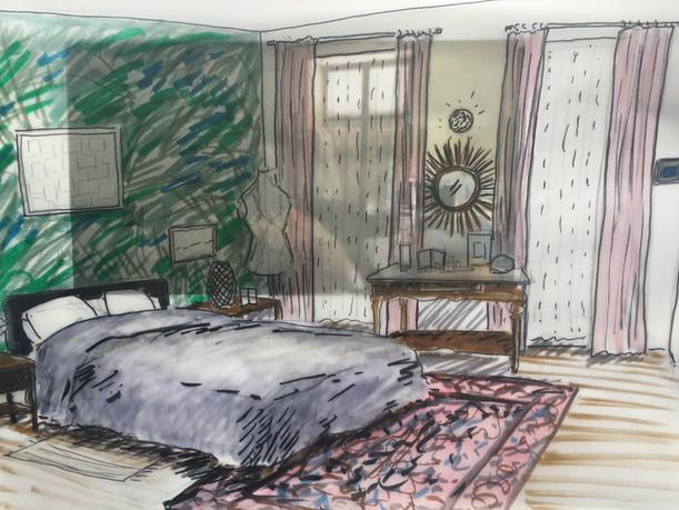 chambre des parents