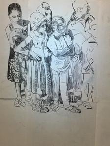 The others en cours, vue d'atelier