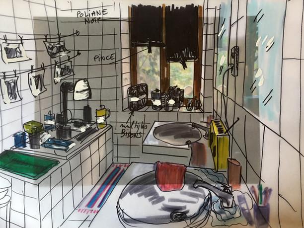 salle de bain / Labo photo