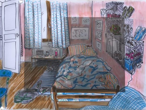 chambre de Frida
