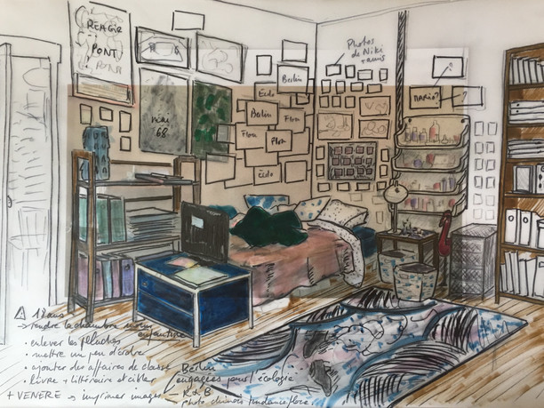 chambre de Niki