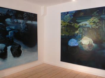 """99,6% d'eau"", Galerie Charlotte Norberg"