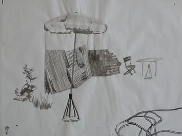 Encre de chine sur papier