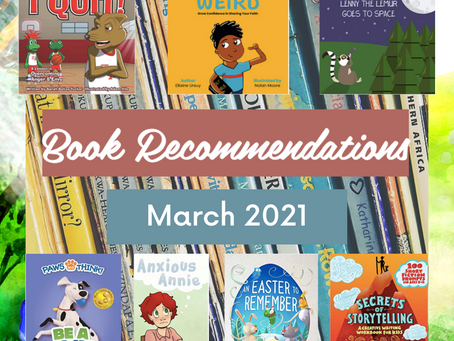 Book Recommendations (March 2021)