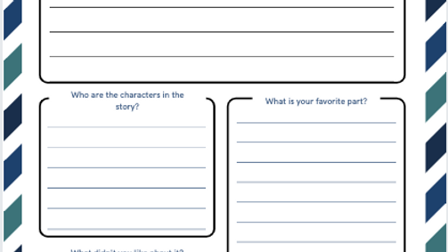 Book Review Templates (US edition)