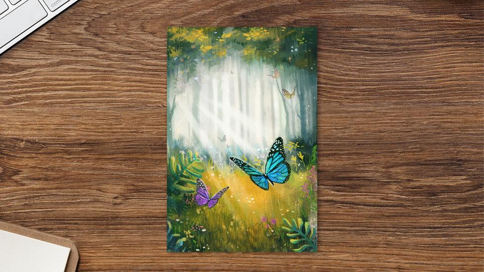 Butterfly Standard Postcard