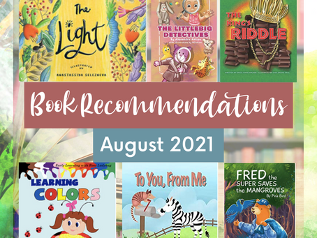 Book Recommendations (August 2021)