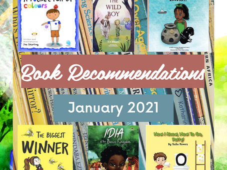 Book Recommendations (January & February 2021)