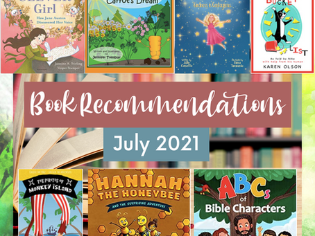 Book Recommendations (July 2021)