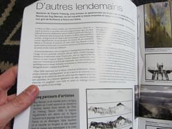 """- Article sur l'expo """"d'autres lendemain"""", Revue Accrochage, février 20"""
