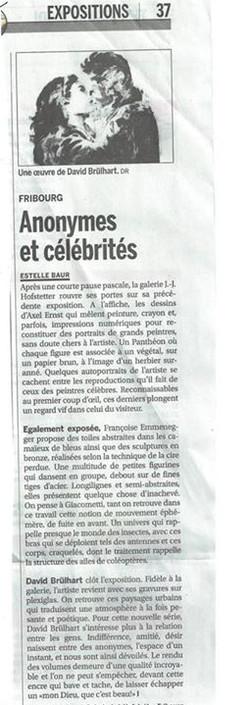 La Liberté, 2014