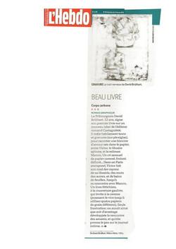 l'Hebdo, 2013