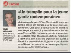 Le Nouvelliste, 2014