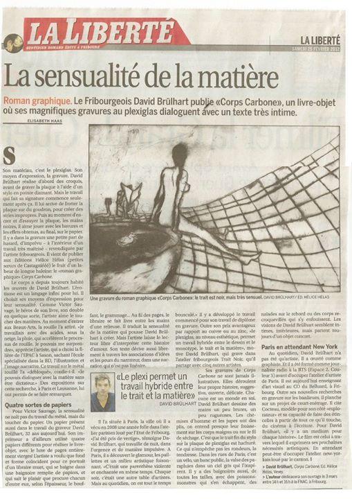 La Liberté, 2013