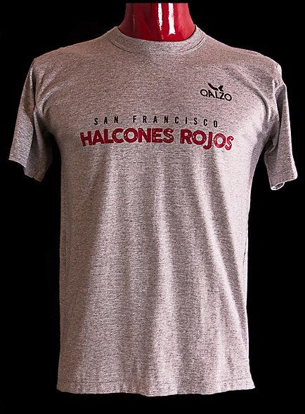 Remera algodón Halcones Rojos