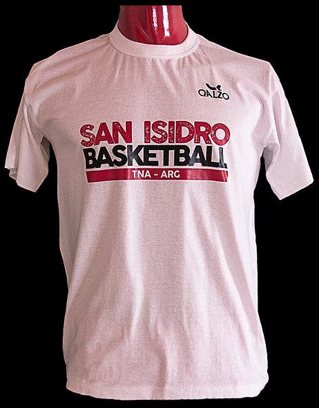 Remera algodón San Isidro Basketball