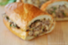 Salsiccia Stuffed French Bread
