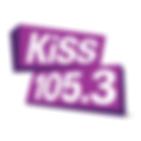 kiss 105.3 logo.png