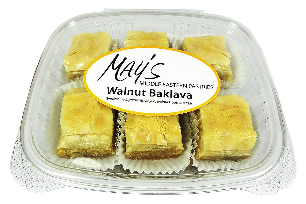 May's Middle Eastern Pastries Walnut Baklava