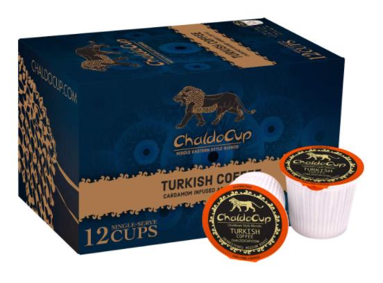 ChaldoCup Turkish CoffeeMedium-Dark Roast (K-Cups)