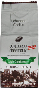 Maatouk Lebanese Coffee with Cardamom