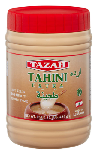 Tazah Premium Lebanese Tahini 16oz